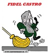 Cartoon: FIDEL CASTRO (small) by cartoonharry tagged wipeout fidel castro rest cartoon caricature cartoonist cartoonharry dutch toonpool