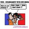 Cartoon: French do not Know (small) by cartoonharry tagged french,wine,unknown,unfamiliarity,france