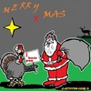 Cartoon: Frohe Weihnachten (small) by cartoonharry tagged cartoonharry,weihnachten,2016,freunde