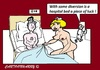 Cartoon: Hospital (small) by cartoonharry tagged hospital,nurse,ill,relax,sex,patient,cartoon,cartoonist,cartoonharry,dutch,toonpool