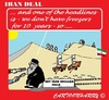 Cartoon: Iran Deal (small) by cartoonharry tagged deal,iran,usa,russia,china,france,uk,germany,eu