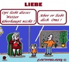 Cartoon: Liebe (small) by cartoonharry tagged liebe,omi,opi,kind,wetter