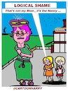 Cartoon: Logical Shame (small) by cartoonharry tagged shame,cartoonharry