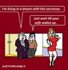 Cartoon: Managers (small) by cartoonharry tagged managers,dreams,office,secretary,beautiful,cartoons,cartoonists,cartoonharry,dutch,toonpool