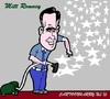 Cartoon: Mitt Romney (small) by cartoonharry tagged mitt,romney,usa,elections,caricature,cartoonharry,dutch,toonpool