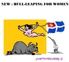 Cartoon: New Bull-Leaping (small) by cartoonharry tagged greece,crete,bullleaping,lol