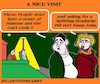 Cartoon: Nice Visit (small) by cartoonharry tagged visit,cartoonharry