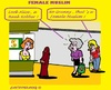 Cartoon: Robbery (small) by cartoonharry tagged bank,robbery,muslima,granny,granddaughter