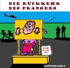 Cartoon: Rückkehr des Prangers (small) by cartoonharry tagged clown,pranger