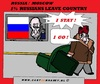 Cartoon: Russians Are Leaving Country (small) by cartoonharry tagged russia,putin,people,leave,country,cartoon,cartoonist,cartoonharry,dutch,toonpool
