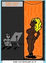 Cartoon: Showpiece (small) by cartoonharry tagged nymphs nyths dark cartoon nude cartoonist cartoonharry dutch toonpool