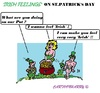 Cartoon: St.Patricks Day (small) by cartoonharry tagged ireland,irish,stpatrick,stpatricksday,gold,pot,feeling