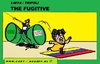 Cartoon: The Fugitive (small) by cartoonharry tagged libya,gadaffi,oil,flag,venezuela,cartoon,fugitive,cartoonist,cartoonharry,toonpool