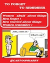 Cartoon: To Forget To Remember (small) by cartoonharry tagged forget,remember,cartoonharry