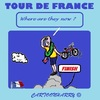 Cartoon: Tour de France (small) by cartoonharry tagged france,biker,tour,2015,froome
