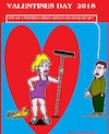 Cartoon: Valentines Day (small) by cartoonharry tagged valentinesday2018