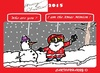 Cartoon: Xmas Minion (small) by cartoonharry tagged minions,xmas