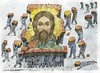 Cartoon: Jesus (small) by igor smirnov tagged jesus