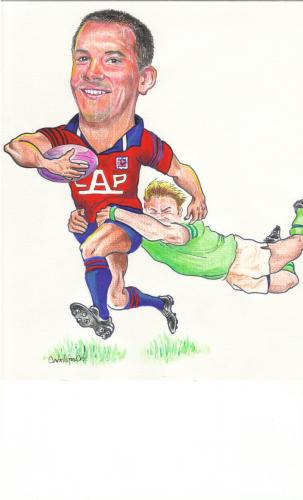 Cartoon: Rugby (medium) by hualpen tagged rugby
