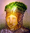 Cartoon: THINK GREEN original (small) by joschoo tagged green,bio,conservation,diversity,think,brain,earth,enviroment,ecology