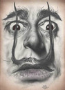 Cartoon: Dali (small) by David Pugliese tagged dali,salvador,drawing,caricatute,art