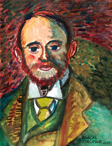 Cartoon: Alexander Reid (medium) by Pascal Kirchmair tagged pascal,kirchmair,vincent,van,gogh,portrait,alexander,reid,retrato,ritratto,aquarell,watercolour,malerei,cuadro,quadro,dipinto,pintura,pascal,kirchmair,vincent,van,gogh,portrait,alexander,reid,retrato,ritratto,aquarell,watercolour,malerei,cuadro,quadro,dipinto,pintura
