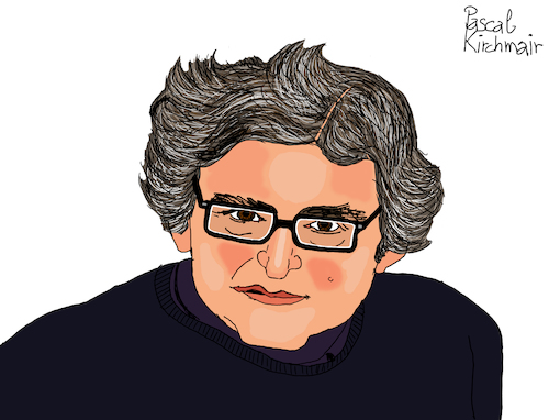 Cartoon: Michel Onfray (medium) by Pascal Kirchmair tagged michel,onfray,philosoph,philosophe,philosopher,autor,schriftsteller,author,cartoon,caricature,karikatur,ilustracion,illustration,pascal,kirchmair,dibujo,desenho,drawing,zeichnung,disegno,ilustracao,illustrazione,illustratie,dessin,de,presse,du,jour,art,of,the,day,tekening,teckning,cartum,vineta,comica,vignetta,caricatura,humor,humour,portrait,retrato,ritratto,portret,porträt,normandie,france,argentan,french,writer,atheism,anarchism,philosophy,michel,onfray,philosoph,philosophe,philosopher,autor,schriftsteller,author,cartoon,caricature,karikatur,ilustracion,illustration,pascal,kirchmair,dibujo,desenho,drawing,zeichnung,disegno,ilustracao,illustrazione,illustratie,dessin,de,presse,du,jour,art,of,the,day,tekening,teckning,cartum,vineta,comica,vignetta,caricatura,humor,humour,portrait,retrato,ritratto,portret,porträt,normandie,france,argentan,french,writer,atheism,anarchism,philosophy