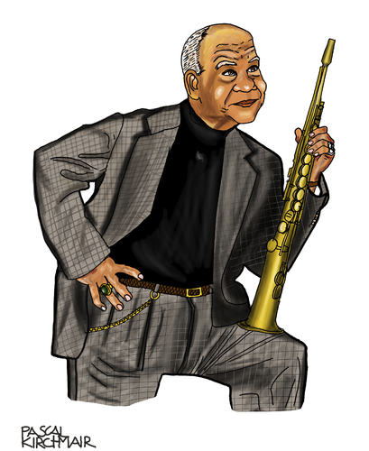 Cartoon: Sidney Bechet (medium) by Pascal Kirchmair tagged paris,orleans,new,musician,music,musiker,jazz,caricature,karikatur,dessin,zeichnung,portrait,bechet,sidney,sidney,bechet,portrait,zeichnung,dessin,karikatur,caricature,jazz,musiker,music,musician,new,orleans,paris