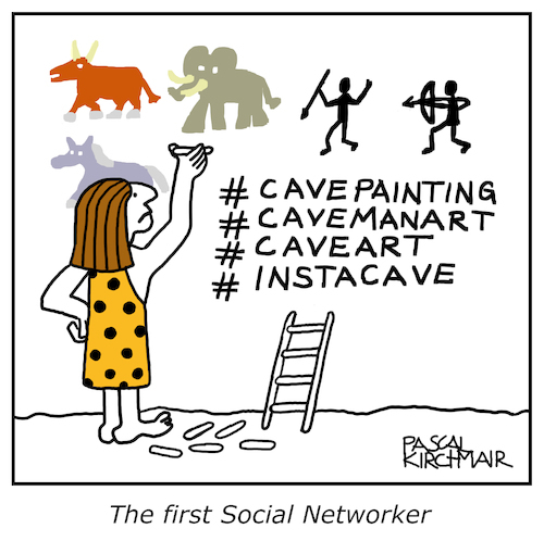 The first social Networker