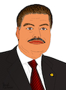 Cartoon: Ahmed Zewail (small) by Pascal Kirchmair tagged ahmed,hassan,zewail,cartoon,caricature,karikatur,ilustracion,illustration,pascal,kirchmair,dibujo,desenho,ink,drawing,zeichnung,disegno,ilustracao,illustrazione,illustratie,dessin,de,presse,du,jour,art,of,the,day,tekening,teckning,cartum,vineta,comica,vignetta,caricatura,humor,humour,political,portrait,retrato,ritratto,portret,nobelpreis,prix,premio,nobel,prize,chemistry,chemie,chimie,femtochemistry,chimica,quimica,femtochemie,egypt,ägypten,egypte,egitto,egipto,egito,alexandria,university,pennsylviana,linus,pauling,chair,professor,physics,director,physical,biology,center,for,ultrafast,science,and,technology,at,california,institute