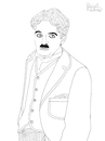 Cartoon: Charlie Chaplin (small) by Pascal Kirchmair tagged charles,charlie,spencer,chaplin,actor,schauspieler,comedian,comedien,acteur,komiker,stummfilm,author,autor,autore,auteur,filmmaker,artist,art,hollywood,parasite,screenwriter,illustration,drawing,zeichnung,pascal,kirchmair,cartoon,caricature,karikatur,ilustracion,dibujo,desenho,ink,disegno,ilustracao,illustrazione,illustratie,dessin,de,presse,du,jour,of,the,day,tekening,teckning,cartum,vineta,comica,vignetta,caricatura,portrait,porträt,portret,retrato,ritratto,melone,tramp,slapstick,komödie,icon,legend,legende,usa