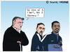 Cartoon: Equipe de France (small) by Pascal Kirchmair tagged frankreich,fußball,soccer,football,didier,deschamps,fff,equipe,de,france,foot,evra,ribery,caricature,dessin,humour,humor,cartoon,karikatur,vignetta