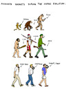 Cartoon: Favourite Gadgets of Humanity (small) by Pascal Kirchmair tagged human evolution menschliche humaine favorite favourite gadgets lieblingsspielereien