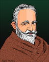 Cartoon: George Bernard Shaw (small) by Pascal Kirchmair tagged george,bernard,shaw,dibujo,drawing,caricature,pascal,kirchmair,illustration,portrait,retrato,desenho,ilustracion,ilustracao,dessin,cartoon,karikatur,caricatura,portret,tekening,cartum,illustratie