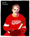 Cartoon: Gordie Howe (small) by Pascal Kirchmair tagged gordie,howe,ice,mr,hockey,detroit,red,wings,cartoon,caricature,karikatur,eishockey,canada,kanada,illustration,drawing,dessin,dibujo,desenho,disegno,vignetta