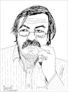 Cartoon: Günter Grass (small) by Pascal Kirchmair tagged günter,grass,german,novelist,poet,playwright,illustrator,graphic,artist,sculptor,nobel,prize,literature,caricature,cartoon,karikatur,portrait,retrato,pascal,kirchmair,dibujo,drawing,desenho,zeichnung,portret,ritratto,cartum,tekening,teckning,dessin,ilustracion,ilustracao,illustrazione,illustration,illustratie,danzig,germany,lübeck,schriftsteller,beim,häuten,der,zwiebel,blechtrommel,autor,künstler,maler,zeichner,grafiker