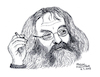 Cartoon: Harry Rowohlt (small) by Pascal Kirchmair tagged harry rowohlt eppendorf illustration drawing zeichnung pascal kirchmair cartoon caricature karikatur ilustracion dibujo desenho ink disegno ilustracao illustrazione illustratie dessin de presse du jour art of the day tekening teckning cartum vineta comica vignetta caricatura portrait retrato ritratto portret kunst writer author autor autore auteur schriftsteller hamburg germany deutschland literature literatur literatura die zeit poohs corner