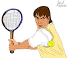 Cartoon: Jimmy Connors (small) by Pascal Kirchmair tagged jimmy,connors,tennis,hall,of,fame,superstar,cartoon,caricature,karikatur,dibujo,desenho,drawing,zeichnung,illustration,ilustracion,pascal,kirchmair,portrait,retrato,ritratto,disegno,ilustracao,illustrazione,illustratie,dessin,du,jour,art,the,day,tekening,teckning,cartum,vineta,comica,vignetta,caricatura,usa,belleville,illinois,greatest,number,one