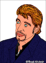 Cartoon: Johnny Hallyday (small) by Pascal Kirchmair tagged johnny,hallyday,smet,caricature,portrait,drawing,illustration,karikatur,cartoon,rock,roll,legende,france,vignetta,dibujo,desenho,disegno,dessin,zeichnung,retrato,ritratto,cartum,portret