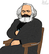 Cartoon: KARL MARX (small) by Pascal Kirchmair tagged 200,jahre,karl,marx,cartoon,zeichnung,desenho,caricature,illustration,ilustracion,pascal,kirchmair,portrait,retrato,ritratto,drawing,dibujo,disegno,ilustracao,illustrazione,illustratie,dessin,du,jour,art,of,the,day,tekening,teckning,cartum,vineta,comica,vignetta,caricatura,karikatur,ink,immagine,image,bild,imagen,imagem,arte,london,capital,kapital,marxismus,marxism,marxismo,marxisme,trier