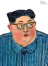 Cartoon: Kim Jong-un (small) by Pascal Kirchmair tagged kim,jong,un,portrait,retrato,drawing,illustration,zeichnung,ilustracion,ilustracao,dibujo,desenho,dessin,disegno,ritratto,pascal,kirchmair,caricature,karikatur,cartoon,tekening,portret,cartum,teckning,caricatura,karikatür,nordkorea,north,korea,pjöngjang,pyongyang,corea,coree,du,del,norte,nord