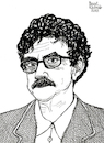 Cartoon: Kurt Vonnegut (small) by Pascal Kirchmair tagged kurt,vonnegut,slaughterhouse,five,literatur,literature,schriftsteller,author,autor,autore,auteur,writer,illustration,ink,drawing,tusche,tuschezeichnung,zeichnung,pascal,kirchmair,cartoon,caricature,karikatur,ilustracion,dibujo,desenho,disegno,ilustracao,illustrazione,illustratie,dessin,de,presse,du,jour,art,of,the,day,tekening,teckning,cartum,vineta,comica,vignetta,caricatura,portrait,porträt,portret,retrato,ritratto,indianapolis,new,york,schlachthof,der,kinderkreuzzug,childrens,crusade,scrittore,escritor