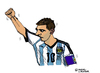 Cartoon: Lionel Messi (small) by Pascal Kirchmair tagged argentina,fußball,portrait,futebol,futbol,foot,football,lionel,messi,caricature,cartoon,karikatur,argentinien,brasilien,wm,star,world,cup,soccer