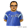 Cartoon: Marcelo Bielsa (small) by Pascal Kirchmair tagged el,loco,argentina,argentinien,fußball,trainer,manager,foot,football,soccer,marcelo,bielsa,cartoon,caricature,karikatur,portrait