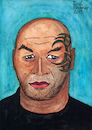 Cartoon: MIKE TYSON (small) by Pascal Kirchmair tagged iron,mike,tyson,illustration,drawing,zeichnung,pascal,kirchmair,cartoon,caricature,karikatur,ilustracion,dibujo,desenho,ink,disegno,ilustracao,illustrazione,illustratie,dessin,de,presse,du,jour,art,of,the,day,tekening,teckning,cartum,vineta,comica,vignetta,caricatura,portrait,retrato,ritratto,portret,kunst,humorist,humourist,boxing,boxer,heavyweight,champion,brooklyn,new,york,city,schwergewicht,weltmeister,world,usa