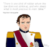 Cartoon: Napoleon Bonaparte (small) by Pascal Kirchmair tagged napoleon bonaparte napoleone buonaparte quotes citations zitate empire france francia frankreich porträt dibuix illustration drawing zeichnung pascal kirchmair cartoon caricature karikatur ilustracion dibujo desenho ink disegno ilustracao illustrazione illustratie dessin de presse du jour art of the day tekening teckning cartum vineta comica vignetta caricatura portrait retrato ritratto portret revolution revolucion revolucao rivoluzione waterloo austerlitz bataille battlefield battle war