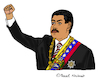 Cartoon: Nicolas Maduro (small) by Pascal Kirchmair tagged nicolas,maduro,cartoon,dibujo,desenho,dessin,zeichnung,caricatura,karikatur,drawing,venezuela,caracas,politician,politico,presidente,politicien