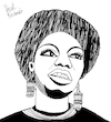 Cartoon: Nina Simone (small) by Pascal Kirchmair tagged rnb,classical,bürgerrechtsbewegung,soul,eunice,kathleen,waymon,black,music,nina,simone,singer,songwriter,civil,rights,movement,jazz,rhythm,and,blues,folk,gospel,pop,cartoon,caricature,karikatur,ilustracion,illustration,pascal,kirchmair,dibujo,desenho,drawing,zeichnung,disegno,ilustracao,illustrazione,illustratie,dessin,de,presse,du,jour,art,of,the,day,tekening,teckning,cartum,vineta,comica,vignetta,caricatura,humor,humour,political,portrait,retrato,ritratto,portret,chan,porträt,artiste,artista,artist,usa,pianistin,pianist,pianista,tryon,north,carolina,carry,le,rouet