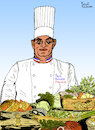 Cartoon: Paul Bocuse (small) by Pascal Kirchmair tagged monsieur,paul,bocuse,chef,cuisinier,illustration,caricature,karikatur,drawing,dessin,zeichnung,pascal,kirchmair,desenho,dibujo,ilustracion,ilustracao,illustrazione,illustratie,tekening,teckning,cartoon,portrait,porträt,retrato,ritratto,portret,cartum