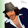 Cartoon: Rachid Taha (small) by Pascal Kirchmair tagged rachid,taha,singer,songwriter,pop,cartoon,caricature,karikatur,ilustracion,illustration,pascal,kirchmair,dibujo,desenho,drawing,zeichnung,disegno,ilustracao,illustrazione,illustratie,dessin,de,presse,du,jour,art,of,the,day,tekening,teckning,cartum,vineta,comica,vignetta,caricatura,humor,humour,portrait,retrato,ritratto,portret,porträt,artiste,artista,artist,algeria,algerien,algerie,argelia,sig,paris,france,frankreich,rai,arnold,chiari,disease